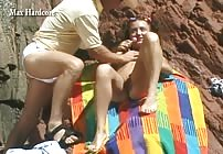PREVIEW - Patricia gets Buttfucked on the Beach by Max Hardcore!