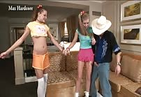 PREVIEW - Little Nikki Makes Her New Best Friend Tabitha a Model with Max Hardcore!