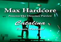 FREE PREVIEW - Pole Dancer Anal Audition With Catalina For Max Hardcore!